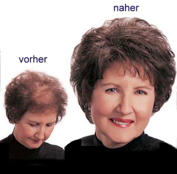% Haarersatz Ruth, glatt, Perücke am Haarreif