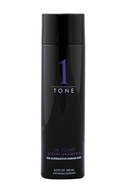 In tone Violet Shampoo 250ml / 8.5 oz Echthaar