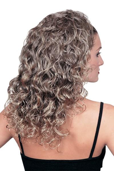 % Halbperücke Roxanne, Zweithaar, Haarverlängerung
