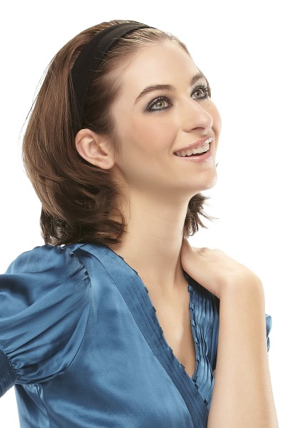 % Halbperücke Escape, Haarband, Teilperücke, Haarteile, Haarreif