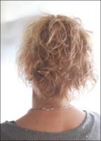 Vorher-Nacher mit dem Haarteil Classy